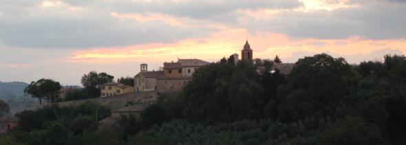 Panorama di Candelara