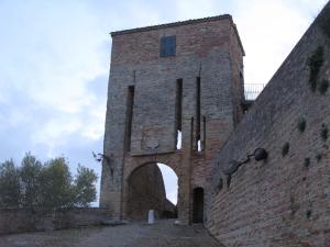 Porta d'accesso al borgo di Novilara