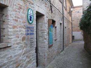 Vicoli caratteristici del borgo di Fiorenzuola