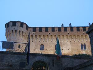 Entrata al Castello di Gradara