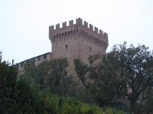 Torrione principale del castello di Gradara