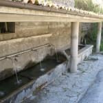 La fonte/lavatoio di Pieia