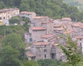 Vista di Pieia dal sentiero per Fondarca