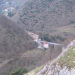 Veduta aerea di Abbadia di Naro dal castello