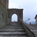 Arco d'ingresso alla Rocca di Monte Cerignone