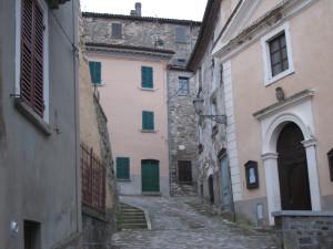 Centro storico di Monte Cerignone
