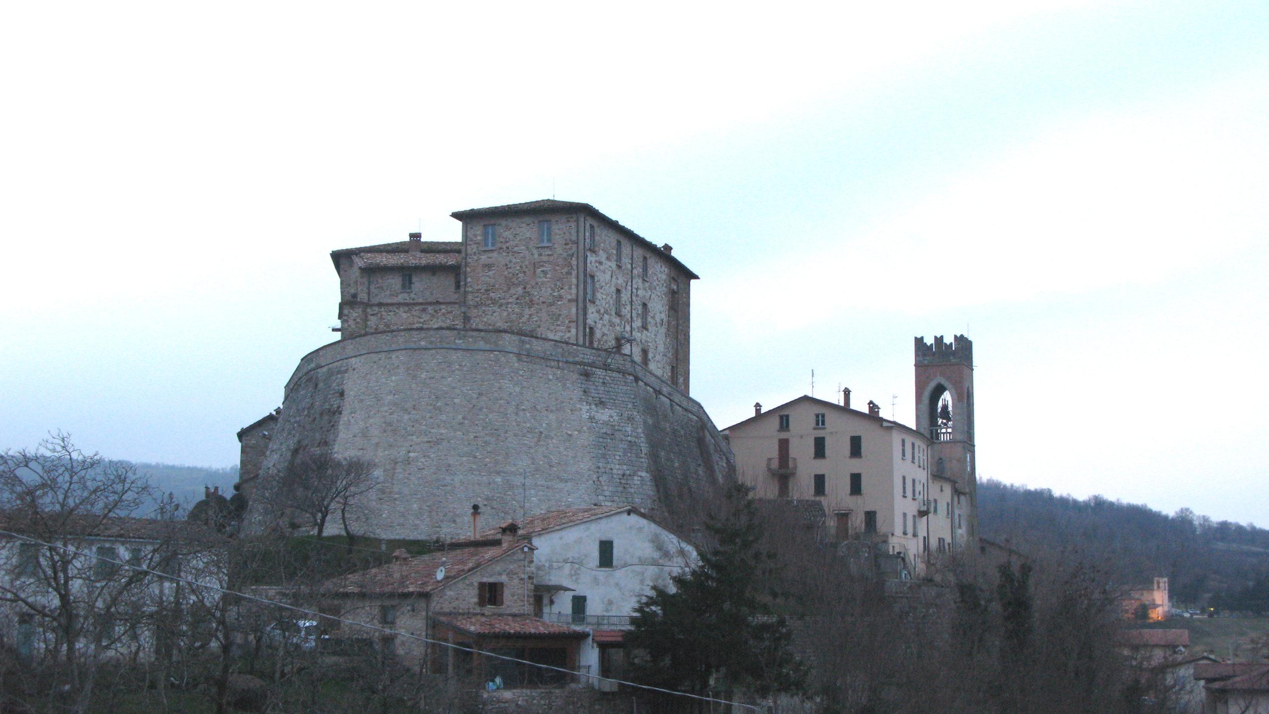 Panorama di Monte Cerignone
