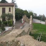 Caratteristiche mura di Casteldimezzo