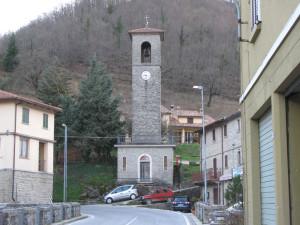 Torre con orologio di Lamoli
