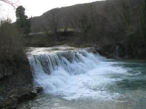 Cascatella e piscine del torrente Auro