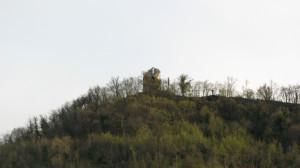 La Torre Brombolona vista da Villa Croce