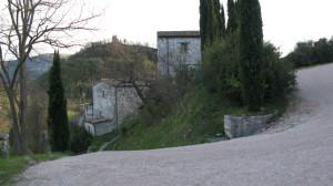 Panorama di Villa Croce dal punto più alto del paese