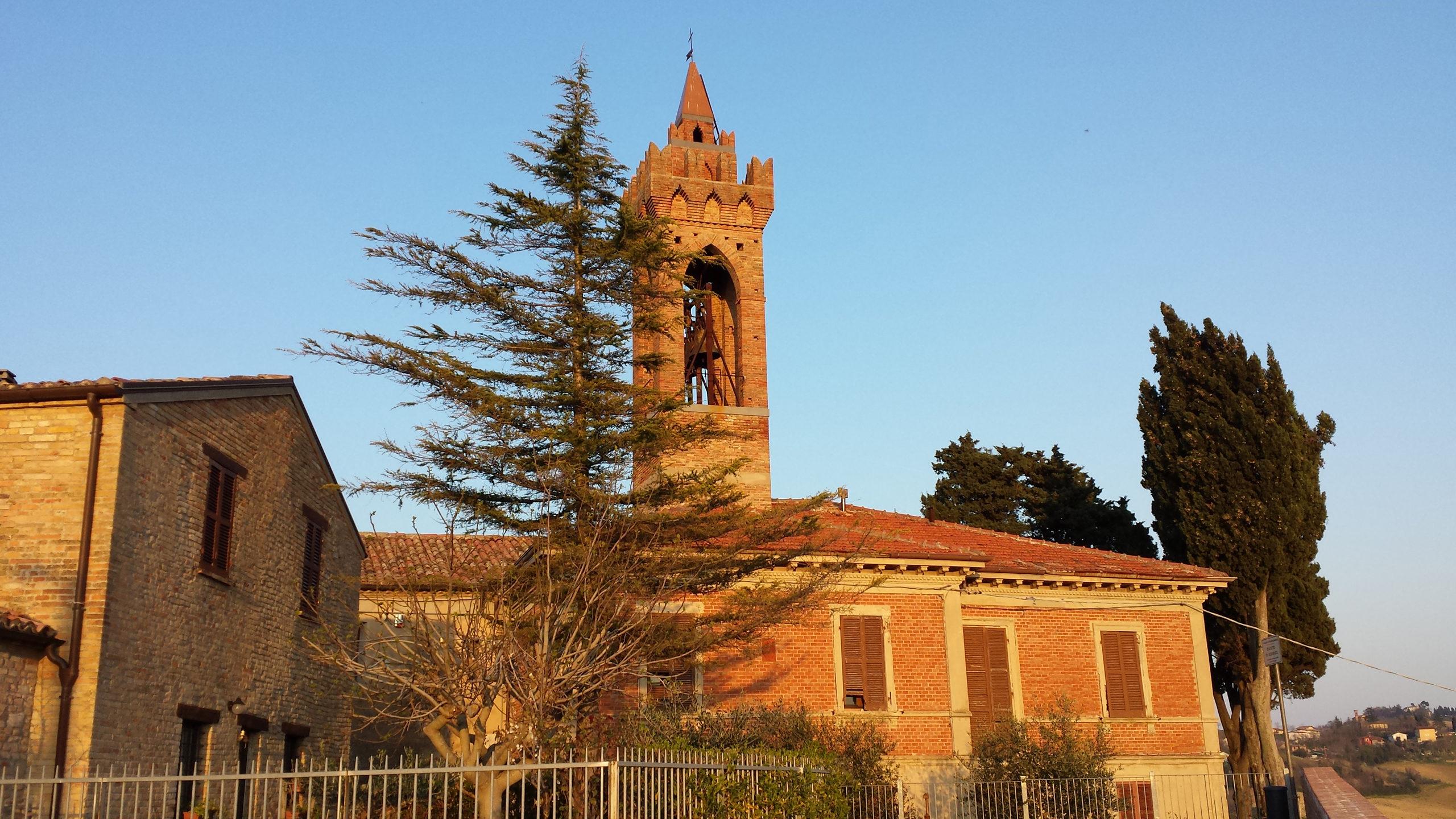 Campanile della chiesa di Farneto