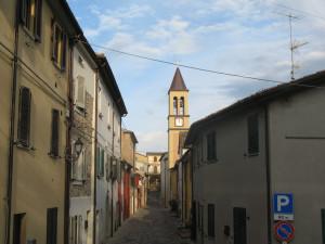 Via principale di Sassofeltrio