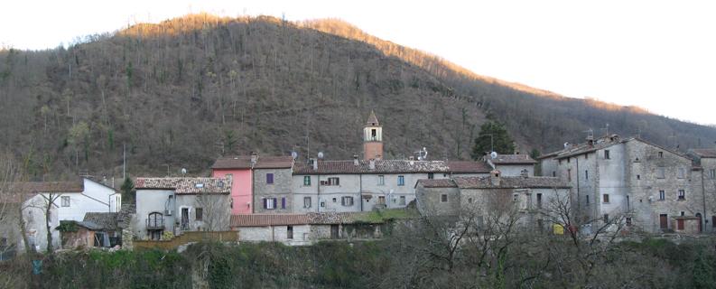 Panorama di Borgo Pace