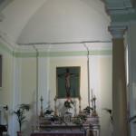 Interno della chiesa di Gabicce Monte
