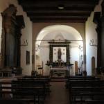 Interno della chiesa di Santa Maria Assunta a Frontone
