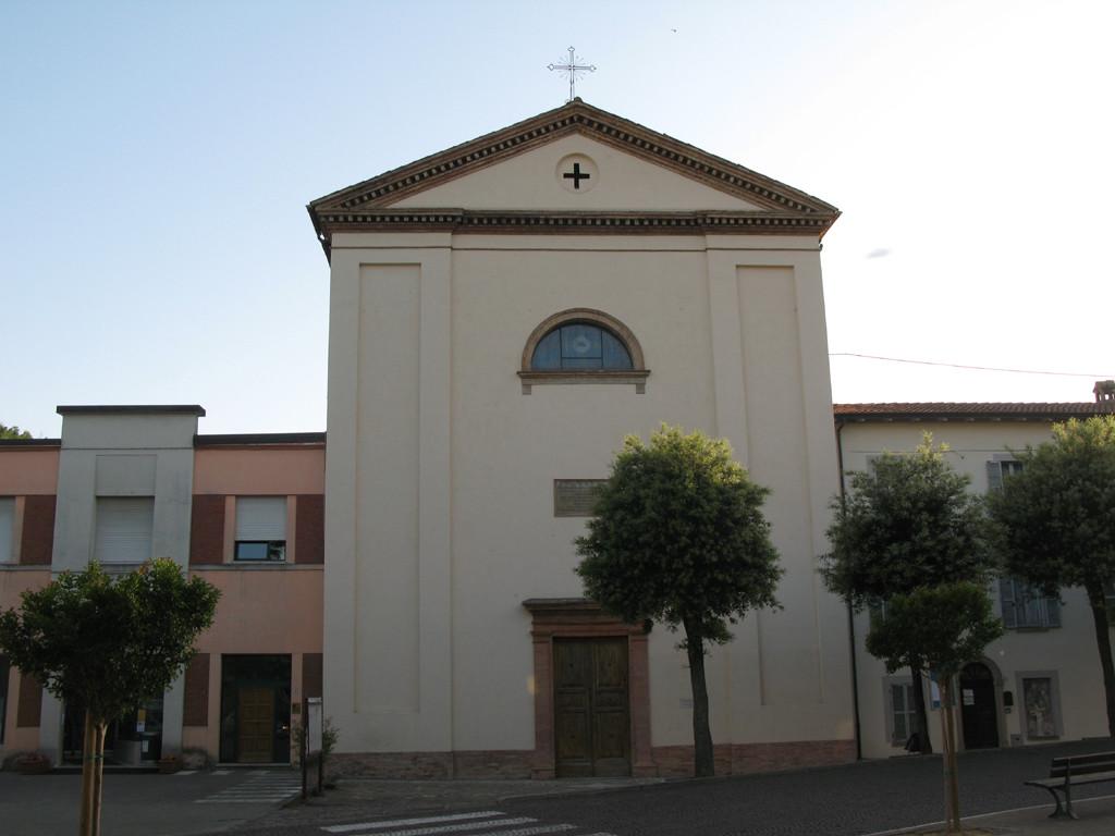 Facciata della Chiesa di San Michele Arcangelo a Macerata Feltria