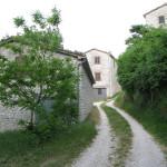 Ingresso del borgo di Montiego