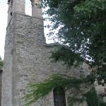 Facciata della Chiesa di San Silvestro a Pietrarubbia