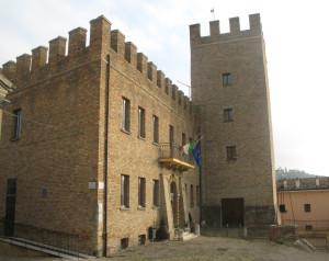 Municipio e Torre di Sant'Angelo in Lizzola