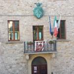 Facciata del Palazzo Comunale di Monte Grimano