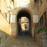 Entrata al centro storico di Sant'Angelo in Lizzola