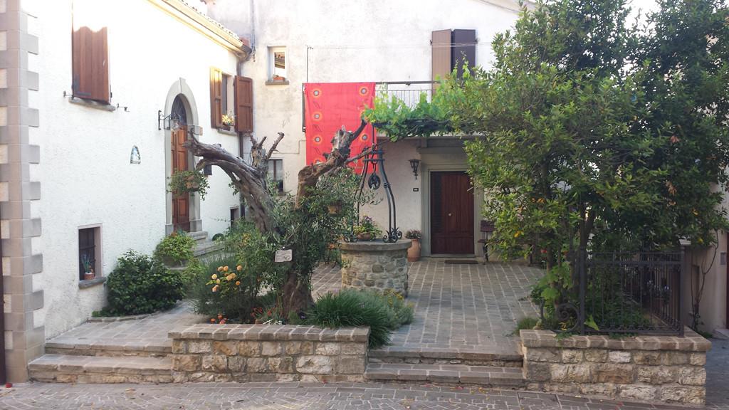 Particolare del centro storico di Montegrimano