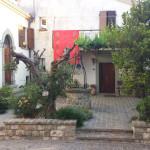 Particolare del centro storico di Monte Grimano