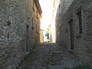 Via interna del borgo di Pietrarubbia