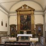 Interno della Chiesa di Santa Croce a Mercatello sul Metauro