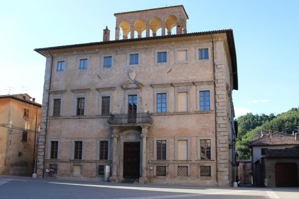 Il Palazzo Gasparini a Mercatello sul Metauro