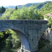 Ponte romanico di Mercatello sul Metauro