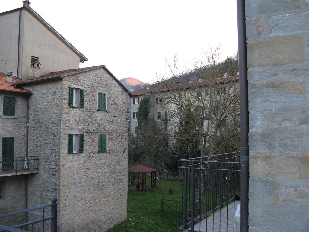 Interno del borgo di Lamoli