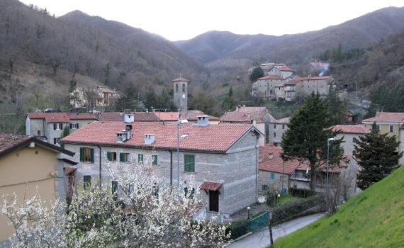 Panorama di Lamoli