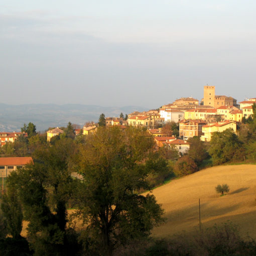 Panorama di Sant'Angelo in Lizzola