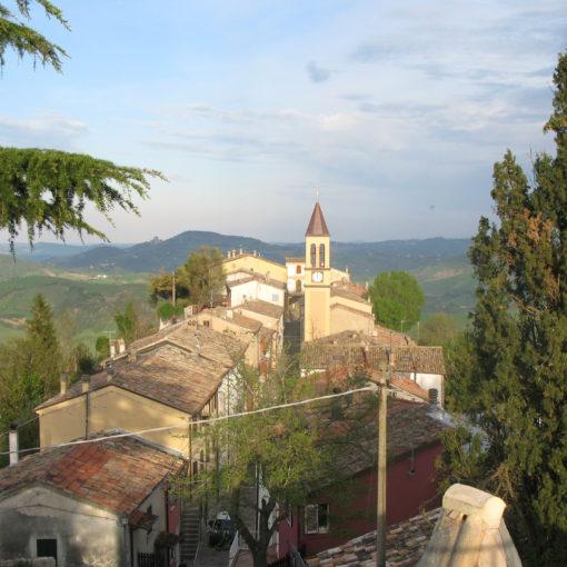 Panorama di Sassofeltrio